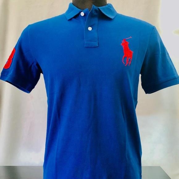 4d0319f3 Polo Ralph Lauren Custom Slim Fit Mesh Polo Shirt NWT